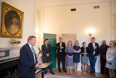4 May 2017, Belfast Beltway Boxing Project reception at the Embassy of Ireland.