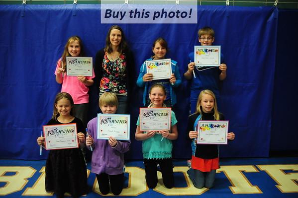 BBE elementary awards 05-31