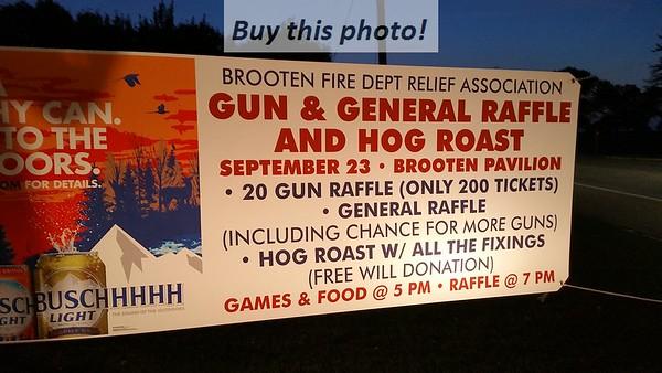 Brooten Fire Dept Gun Raffle 09-23