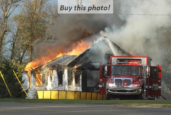 Rural house fire 10-15