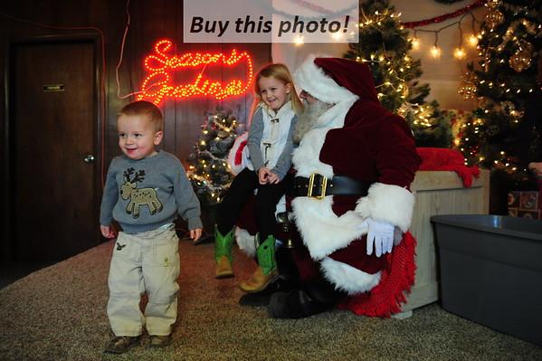 Santa visits Sedan! 12-02