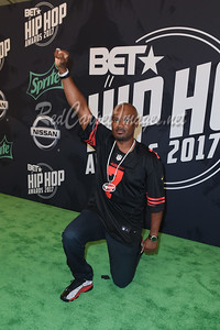 MIAMI BEACH, FL - OCTOBER 6: 2017 BET Hip Hop Awards at the Fillmore Theater Miami Beach on Friday, October 6, 2017, in Miami Beach, FL, USA. (Photo by Aaron J. /RedCarpetImages.net)