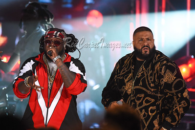 MIAMI BEACH, FL - OCTOBER 6: 2017 BET Hip Hop Awards at the Fillmore Theater Miami Beach on Friday, October 6, 2017, in Miami Beach, FL, USA. (Photo by Aaron J. / RedCarpetImages.net)