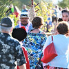 Malachi Shane greets guests as they arrive at Becoming Independents 4th annual luau Held on Saturday September 23rd in Becoming Independents garden. Guests enjoyed Polynesian dancing, live music, raffles, signature drinks and luau feast while supporting vital programs in this fundraiser. (Photos Will Bucquoy for the Press Democrat).