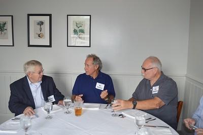 Wallace Elliott, Bill Burgess and Jimmy Wakefield