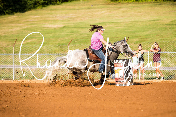 Clinton Fair 7-22-17 Adult 3-D Barrel Race