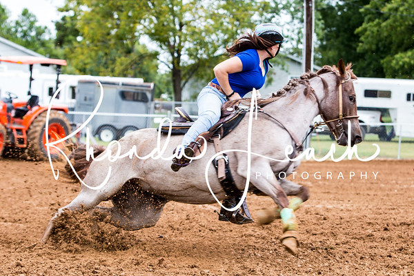 Clinton Barrel Race 9-02-17