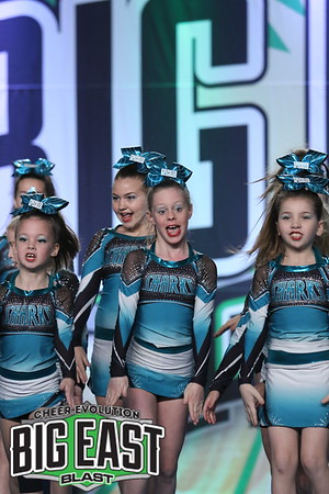 Cheer Sport Speckled Sharks Sm Youth 1