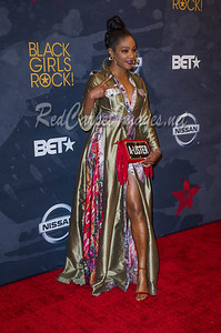 NEWARK, NJ - AUGUST 05:  Celebrities, honorees, and guests arrive to Black Girls Rock at New Jersey Peforming Arts Center on August 5, 2017 in Newark, NJ, USA.  (Photo by Aaron J. / RedCarpetImages.net)