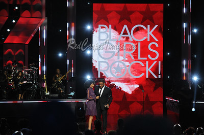 NEWARK, NJ - AUGUST 05:  Presenters, honorees, and performers on stage at the 2017 Black Girls Rock at New Jersey Peforming Arts Center on August 5, 2017 in Newark, NJ, USA.  (Photo by Aaron J. / RedCarpetImages.net)