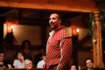 René Thornton, Jr. as Berowne in LOVE'S LABOUR'S LOST. Photo by Lindsey Walters.