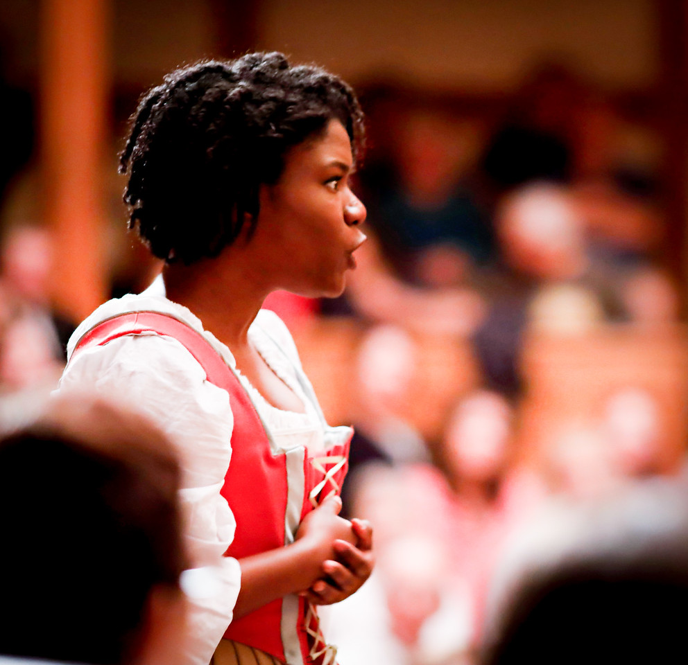Shunté Lofton as Margaret in MUCH ADO ABOUT NOTHING. Photo by Lindsey Walters.