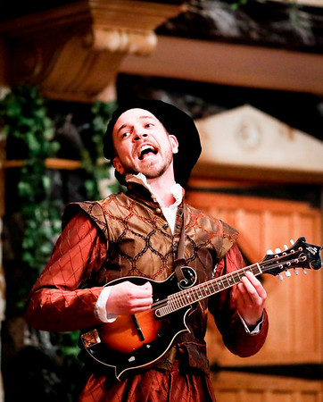 Tim Sailer as Balthazar in MUCH ADO ABOUT NOTHING. Photo by Lindsey Walters.