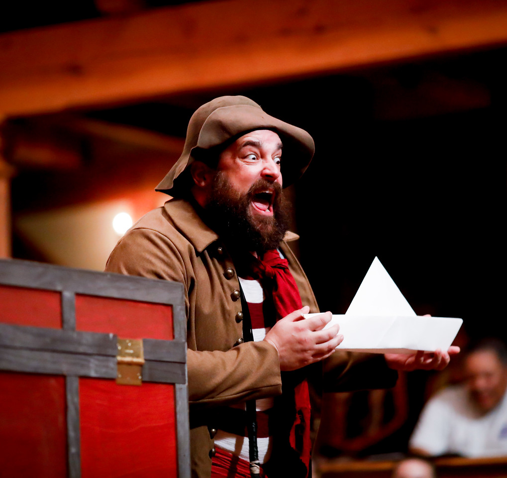 David Anthony Lewis as Bill Slank in PETER AND THE STARCATCHER. Photo by Lindsey Walters.
