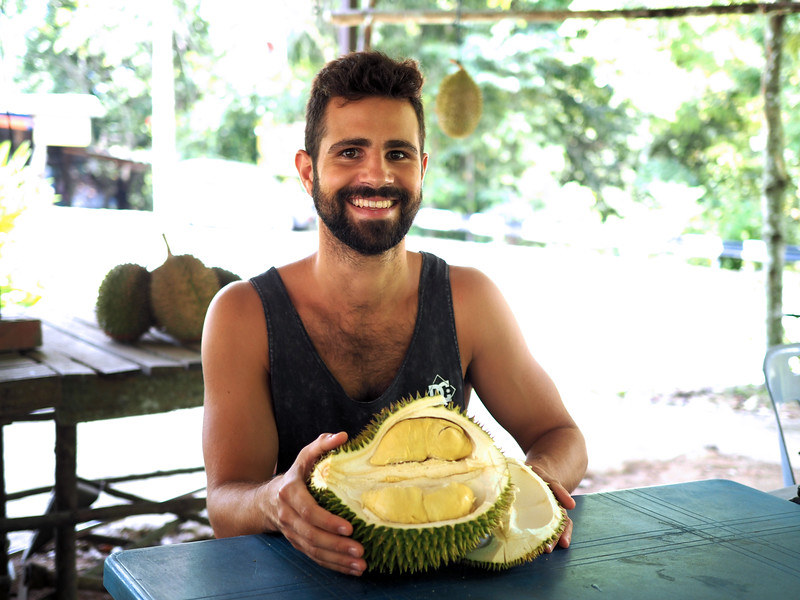 out-of-season durian in penang