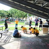 """For the eleventh consecutive year, Belen Jesuit students hosted a 'fun day' for 150 children ages 3-12 with Autism and other disabilities on October 20. <br /> <br /> The day began with the Belen students hearing a presentation regarding Autism. """"Our students start the day very apprehensive but then find that the kids are a lot of fun,"""" said Olga Ramon, Mathematics teacher at Belen and event coordinator. """"They learn techniques to better interact with the children and they learn a little compassion, patience and understanding for these kids."""" <br /> <br /> """"It is an incredible experience for our students to come to Belen Jesuit. They normally don't get to experience a day like today. They look forward to it every year and spend the months leading up to it saying Belen and the yellow bus,"""" said Aida Marrero, principal, Blue Lake Elementary School. """"Most of the students don't get the opportunity to enjoy field trips and this is one they don't forget.""""<br /> <br /> The activities began when the students from Blue Lakes arrived at the Belen gymnasium. The activities included finger painting, basketball, hula-hoops, playing in a bounce house, etc. <br />  """"This day is special for a number of reasons. For one, this event is held on a day when the school is closed so all the students participating from Belen are doing this as volunteers,"""" said Mrs. Ramon. """"Secondly, this event gives our students the opportunity to give back and to have fun all while bringing a smile to child with a disability.""""<br /> <br /> """"Our students always do a great job of playing with the Blue Lakes students and making them feel at home,"""" said Jose E. Roca, principal. """"Three hundred student volunteers plus faculty and staff help to ensure that things go smoothly. At the end of the day it is always uplifting to hear how much our students got out of the day and to see them exemplifying our motto of being men for others."""""""