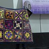 Janet Scott warned us about letting blocks lay around too long.  She won these Blotto blocks at the 2007 Natl Quilt Day.  Since the fabric line was older, she had a hard time matching/coordinating fabrics.