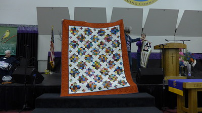 quilt made by Jan Asmann and also quilted by Jan