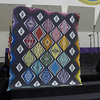 Carol Meyers made this quilt and it was a viewer's choice winner.  Quilted by Kari Smith.