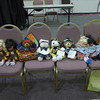 Dressed dolls and bears, Oh MY!!  Annual event for members to dress a doll or bear for donation to Salvation Army for gifts for kids for Christmas