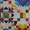 Quilt by Jan Asmann.  Size is 78 X 78 and was quilted by Lon Brewer.