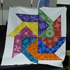 Primary Raffle Quilt.  Kari Smith organized, blocks pieced my her committee.  Kari did the machine quilting.  Quilt size is 96 x 96