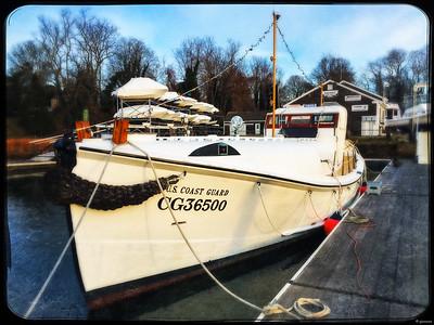CG36500 at its Winter Berth