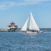 VICTORY LAP ---  Skipjack IDA MAY -- <br /> <br /> Double sweep in 2017 as she also was 1st at the  2017 Deal Island Race on Labor Day, Sept. 5th, 2017