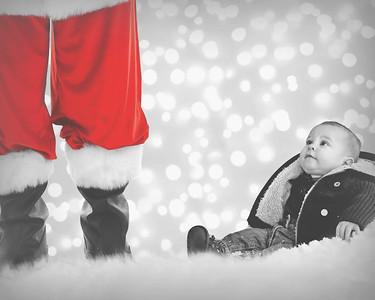 8x10 Merry And Bright B&W-2