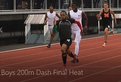 Boys 200m Dash