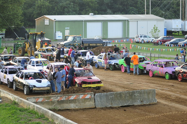 "2017 CLARKE CO FAIR ""  Figure 8 Demolition Derby"" 8-15-17"