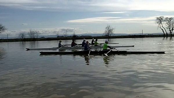 Stockton Day 2 Sculling - Feb 26, 2017