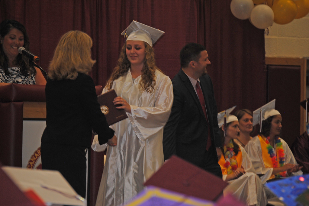 . Leah McDonald - Oneida Daily Dispatch Canastota High School held its 136th Commencement Ceremony on Saturday, June 24, 2017.