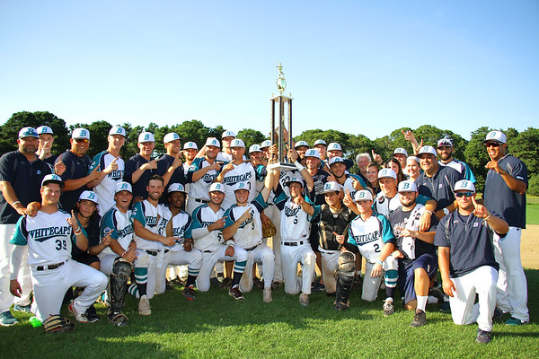 2017 Cape Cod Baseball League Champions Brewster Whitecaps. NOTE: Because of the ineptness of VERIZON, they now tell us the studio will have internet up by 5:00 pm Monday August 21. My apologies to all viewers!