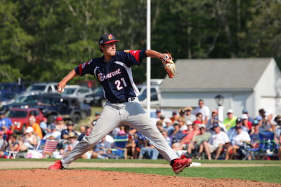Bourne Braves vs Brewster Whitecaps, Game 3, CCBL Championship
