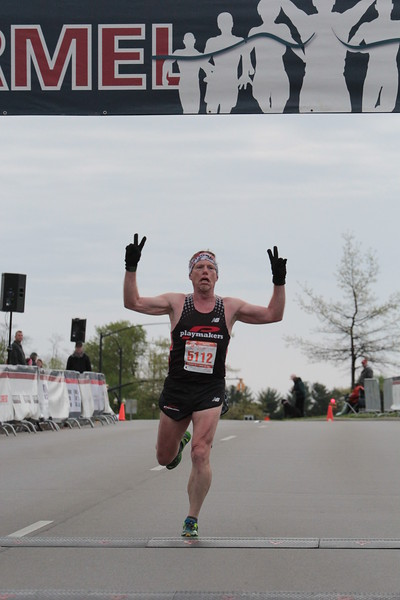2017 Carmel 5K Finish Line
