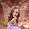 Beautiful Fairy.  Rainbows, Glitter, and Butterflies