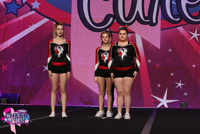 Chatham Phoenix Cheer Blaze Senior Stunt Group 3