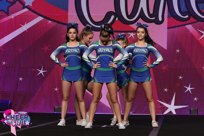 CheerStrike Royals Erica's Group Senior Stunt Group 3