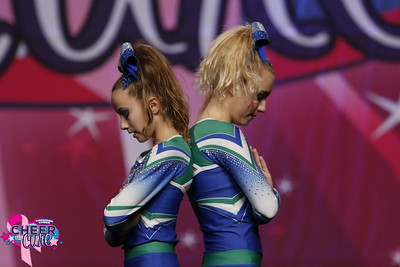 CheerStrike Royals Jayden & Riley Junior Duo 3