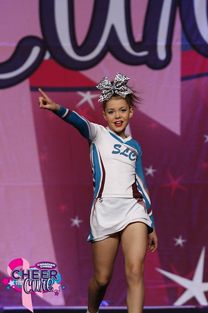 Snowleopards Cheerleading Youth Indy 3