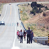 People make their way to the Santuario during the annual pilgrimage to the Santuario de Chimayo on Thursday, April 13, 2017. Luis Sánchez Saturno/The New Mexican