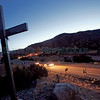 Pilgrims make their way to the Santuario de Chimayo on Friday, April 14, 2017, during the annual Easter pilgrimage to the holy site. Luis Sánchez Saturno/The New Mexican