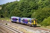 170824-041  Northern class 158 unit No 158853 is seen passing Clay Cross with 1Y37, the 14:06 Leeds - Nottingham.