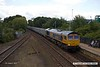 170804-024  GB Railfreight class 66/7 No 66764 is seen passing through Mansfield Woodhouse, powering train 6E89, 10:20 Wellingborough - Rylstone.