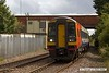 170831-005  East Midlands Trains class 158 super sprinter unit No 158774 is seen passing Kirkby Summit with 2H17, the 14:55 Nottingham - Mansfield Woodhouse.