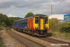 170831-004  East Midlands Trains class 156 sprinter unit No 156497 is seen passing Kirkby Summit with 2D16, the 14:38 Worksop - Nottingham.