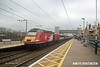 170207-002  Virgin East Coast class 43 No 43312 speeds through Newark North Gate, at the rear of 1E05, the 07:30 Edinburgh - London King's Cross.