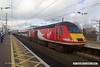 170207-029  Virgin East Coast HST power car, class 43 No 43305, stood in platform 2 at Newark North Gate, leading 1Y84, the 12:03 York - London King's Cross.