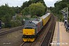 170729-014  Europhoenix class 37's No's 37608 Andromeda & 37611 Pegasus are captured passing through Mansfield Woodhouse, powering (top & tail) Network Rail Test Train 1Q68, 02:59 Doncaster C.H.S. - Derby R.T.C.